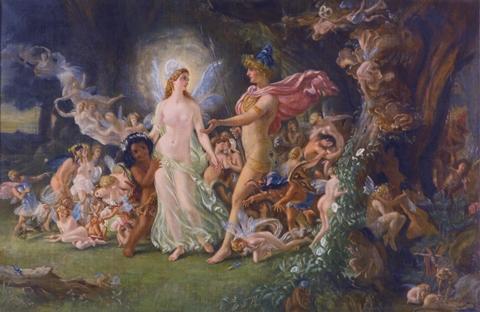 The quarrel of Oberon and Titania, by Joseph Noel Paton